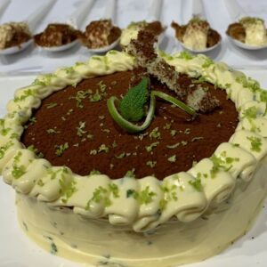 "Mojito Tiramisu, winner in the ""creative"" category"