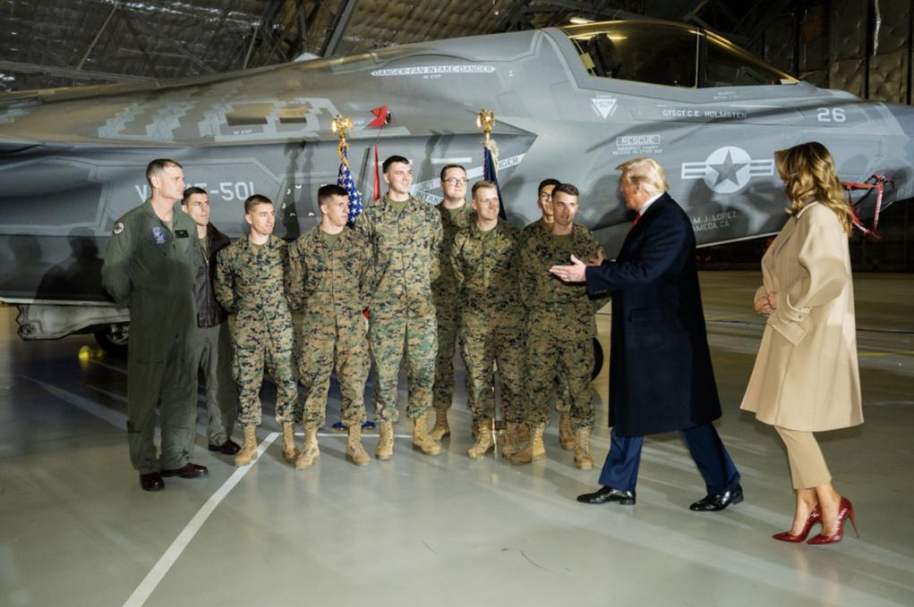 Trump e militari