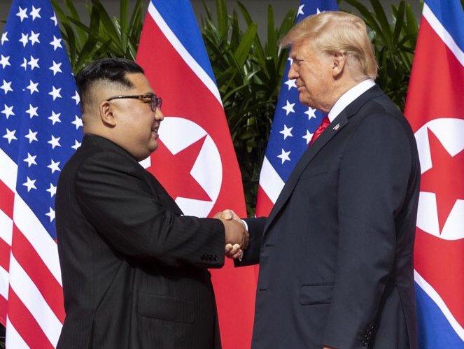 Trump e Kim Yong Un