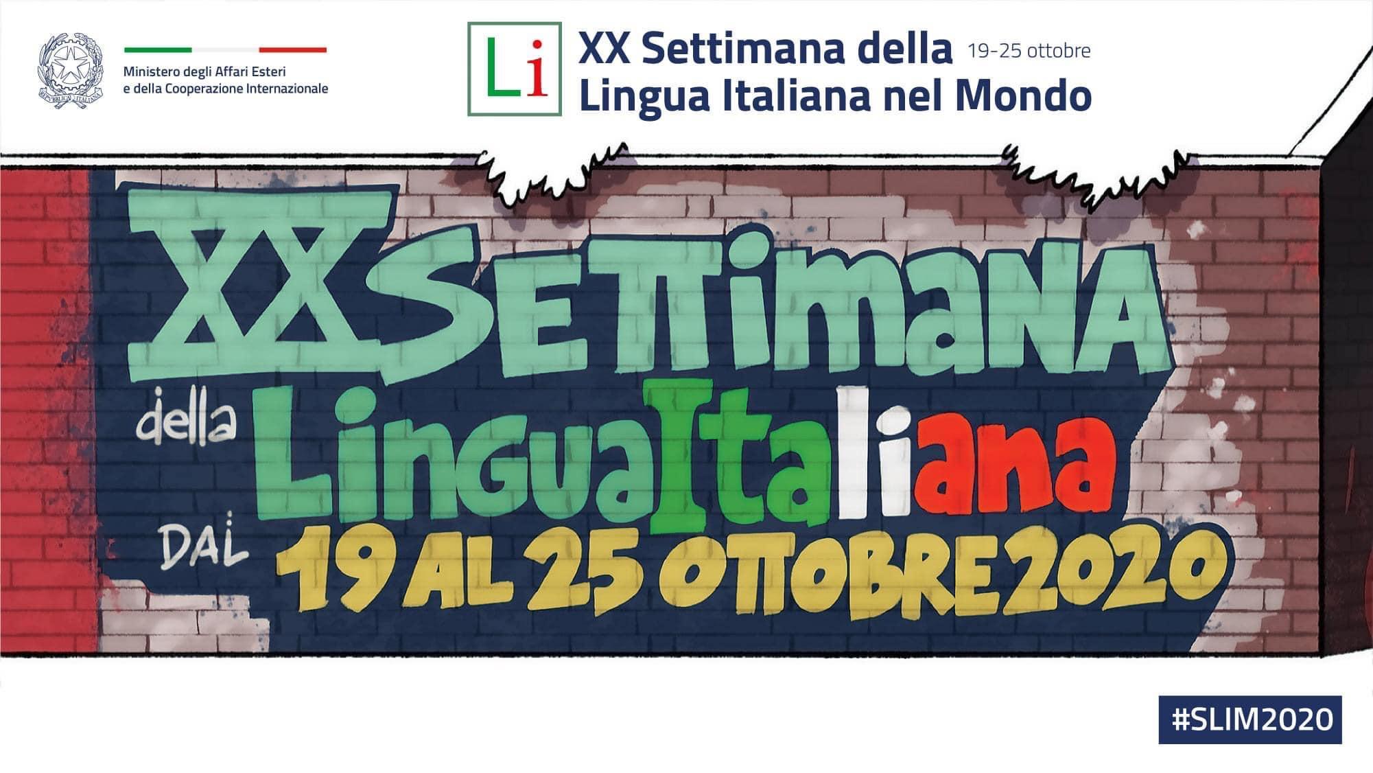XX Edizione della Settimana della Lingua Italiana nel Mondo e negli USA