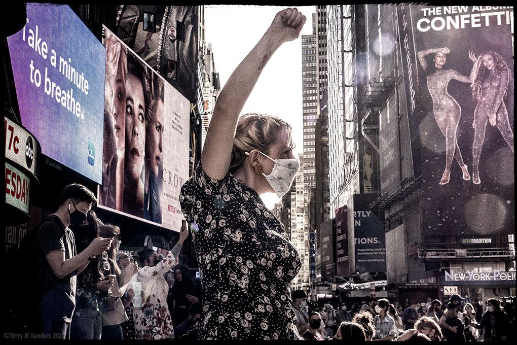 Times Square, la sfida