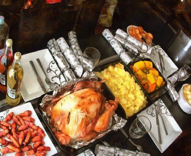 Pranzo tradizionale del Ringraziamento