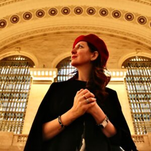 Annlisa Menin alla Grand Central Station