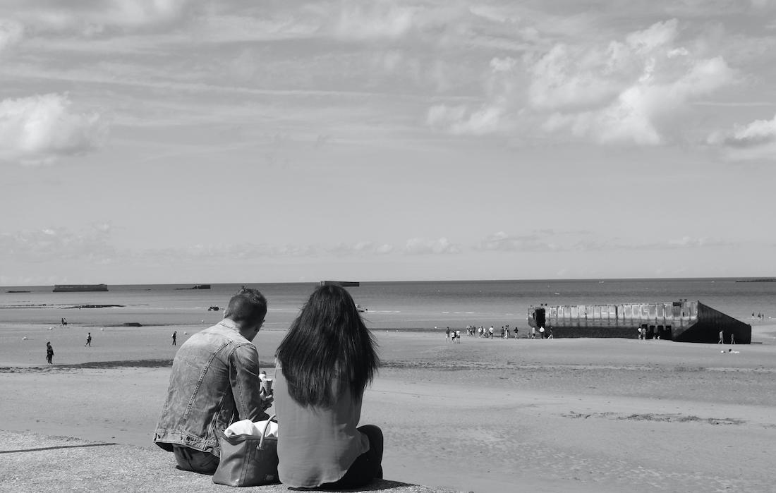 Le spiagge in Normandia (di Dania Ceragioli)
