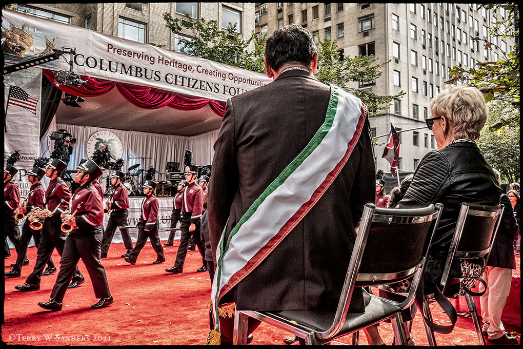 Columbus Day Parade NYC 2021 (Foto di Terry W. Sanders)