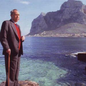 in foto Leonardo Sciascia (1921 – 1989)