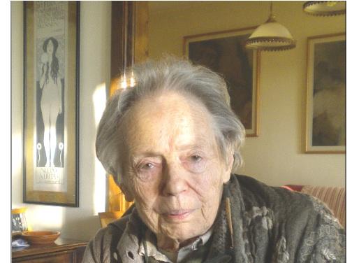 In foto, Marcella Cravos-Ortar