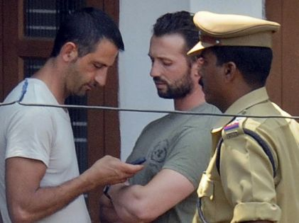 I due marò italiani arrestati in India