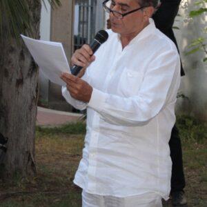 Nella foto, l'attore-autore Pino Ammendola