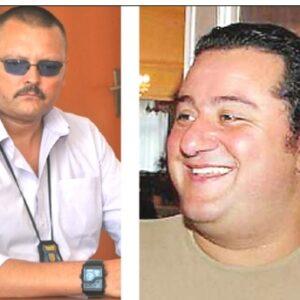 """Nelle foto, il poliziotto romeno e """"Mino"""" Raiola"""