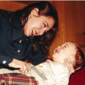 Lia Pipitone con il figlio Alessio