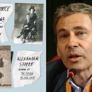 In foto, il Prof. Alexander Stille