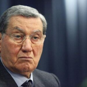 L'ex ministro degli Interni Nicola Mancino