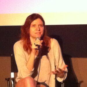 Susanna Nicchiarelli alla presentazione del suo film al Lincoln Center