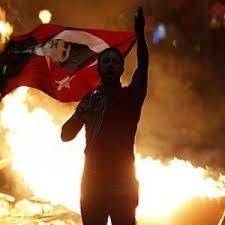 Una immagine delle manifestazioni in Turchia degli ultimi giorni