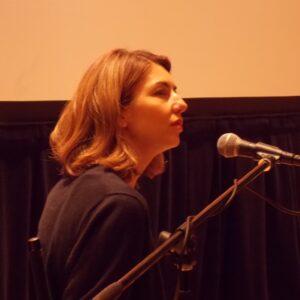 Sofia Coppola alla conferenza stampa del Lincoln Center per la presentazione di The Bling Ring