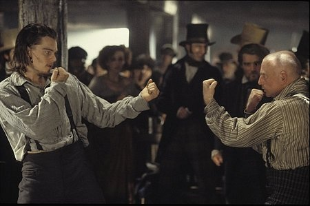 Una scena del film Gangs of New York