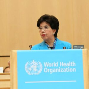 Margaret Chan, Director General of the World Health Organization (WHO). Foto: PAHO/WHO
