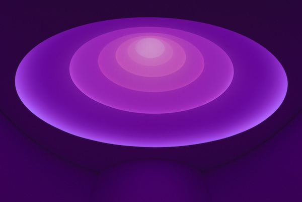 James Turrell, Aten Reign (2013). Foto: David Heald © Solomon R. Guggenheim Foundation, New York.