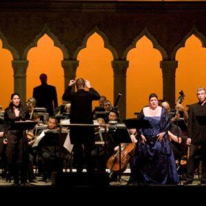 """La """"Semiramide"""" di Rossini a Caramoor. Foto © Gabe Palacio"""