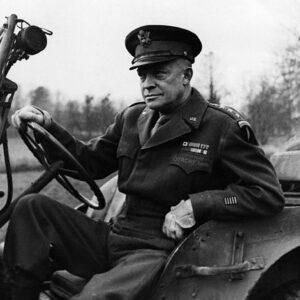 Il Generale Dwight David Eisenhower durante WWII