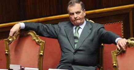 Il vicepresidente del Senato Roberto Calderoli