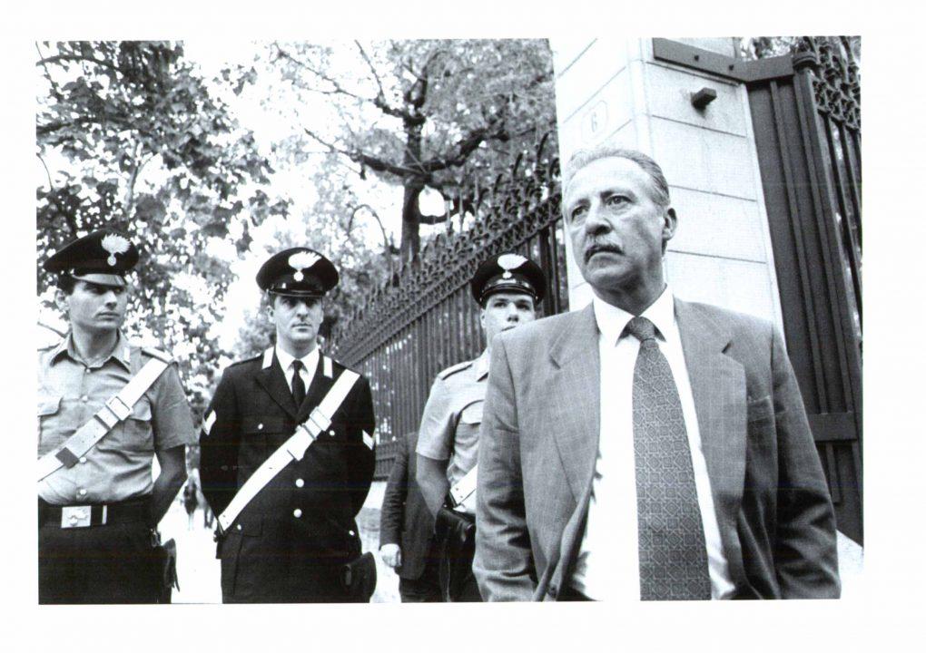 Il magistrato Paolo Borsellino, ucciso dalla mafia a Palermo il 19 luglio 1992