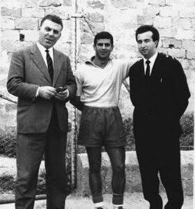 Rodolfo Cartisano quando giocava, qui con la maglia del Mazara calcio