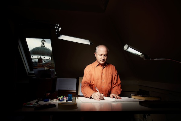 Il compositore britannico George Benjamin. Foto © Matthew G. Lloyd