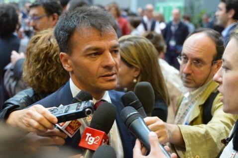 Il viceministro dell'Economia Stefano Fassina