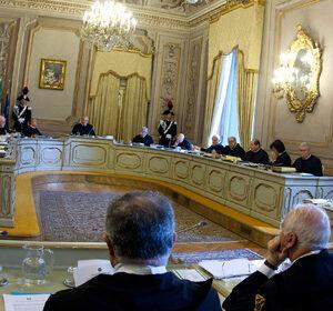 Un'immagine della Corte costituzionale italiana