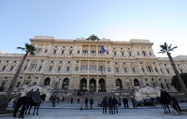 La sede della Corte di Cassazione a Roma