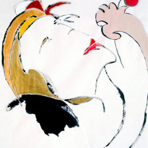 Autoritratto di Coralina Cataldi-Tassoni. Tutti i diritti riservati