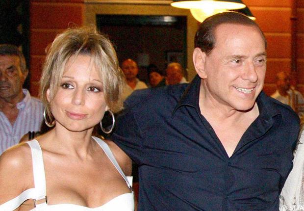 Marina Berlusconi con il padre Silvio
