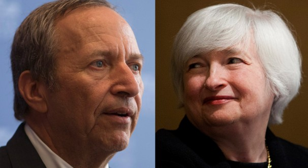 Larry Summers e Janet Yellen