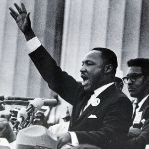 28 Agosto 1963: Martin Luther King al Lincoln Memorial di Washington pronuncia il suo