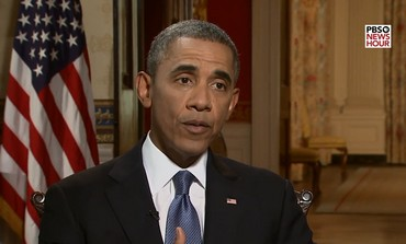 Il Presidente Obama in una intervista alla Pbs, parla del probabile intervento militare in Siria per punire Assad