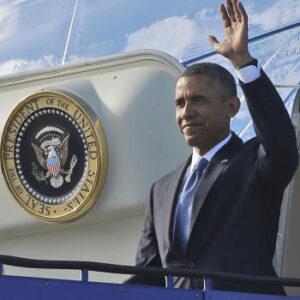 Il presidente Barack Obama arriva a Stoccolma prima del G20 di San Pietroburgo