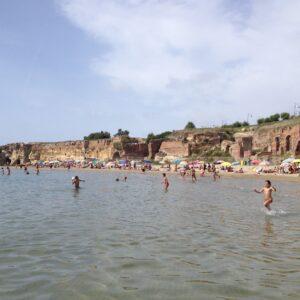 La spiaggia di Anzio