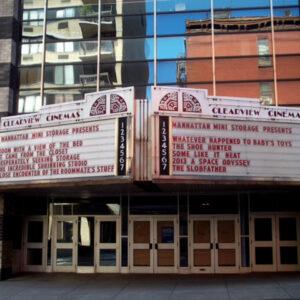 L'ex Clearview Cinemas a Manhattan che ora è diventato uno Storage Space