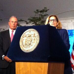 Il sindaco di New York, Michael Bloomberg e il console generale, Natalia Quintavalle aprono l'ltalian Heritage Reception