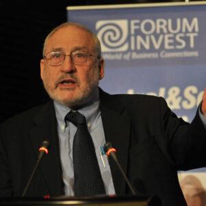 Joseph Stiglitz, professore alla Columbia University e Premio Nobel per l'economia