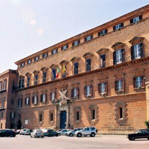 Palazzo dei Normanni a Palermo, sede del Parlamento siciliano
