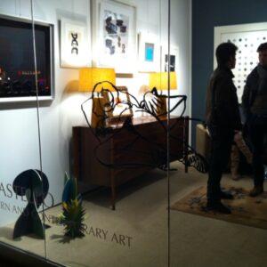 La galleria al 215 Bowery dove fino al 1° dicembre è in corso la mostra The Collector