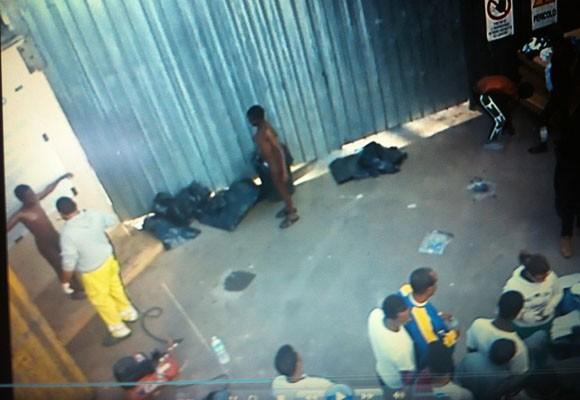Un'immagine dal video trasmesso dal Tg2