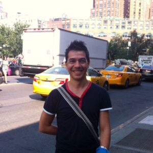 Francesco Pireddu a Union Square