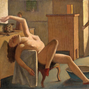 Balthus (Balthasar Klossowski) (French, 1908–2001) Nude with Cat 1949 Oil on canvas 25 9/16 x 31 1/8 in. National Gallery of Victoria, Melbourne, Felton Bequest, 1952 © Balthus