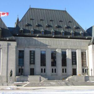 La sede della Corte Suprema ad Ottawa