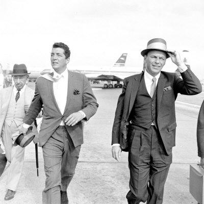 Dean Martin e Frank Sinatra, due dei più grandi cantautori italo-americani