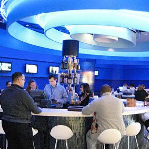 Il ristorante Deep Blue Sushi all'aeroporto JFK di New York